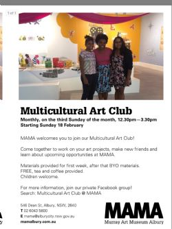 Multicultural Art Club